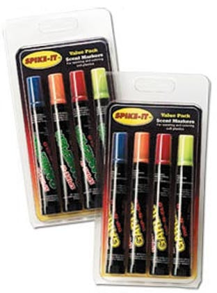 Spike-It Dye Marker Set - Garlic Chart-Red-Orange-Blue