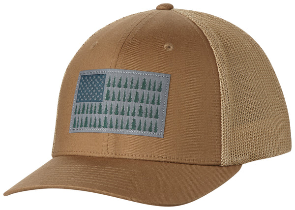 COLUMBIA MESH™ BALLCAP DELTA /  TREE FLAG  Hats Columbia - Hook 1 Outfitters/Kayak Fishing Gear