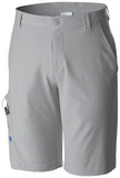 MEN'S PFG TERMINAL TACKLE™ SHORT Cool Grey, Vivid Blue / 30 / 10 Bottoms Columbia - Hook 1 Outfitters/Kayak Fishing Gear