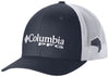 PFG MESH™ BALL CAP XXL COLLEGIATE NAVY  Hats Columbia - Hook 1 Outfitters/Kayak Fishing Gear