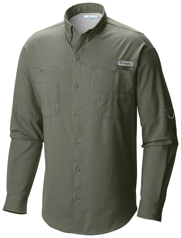 Men's Tamiami™ II Long Sleeve Shirt - CLOSEOUT Cypress - CLOSEOUT / S Tops Columbia - Hook 1 Outfitters/Kayak Fishing Gear