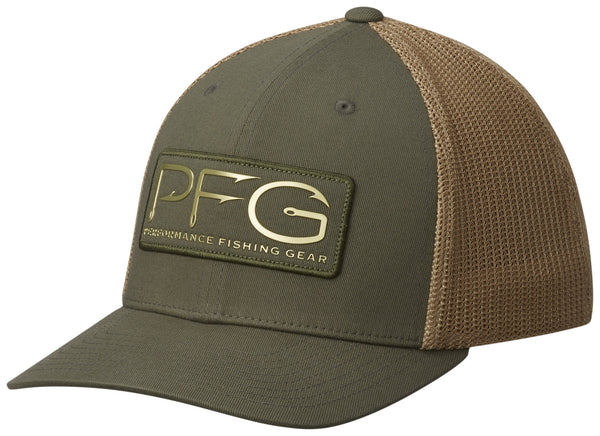 PFG MESH™ BALL CAP CYPRESS / PFG HOOK PATCH  Hats Columbia - Hook 1 Outfitters/Kayak Fishing Gear