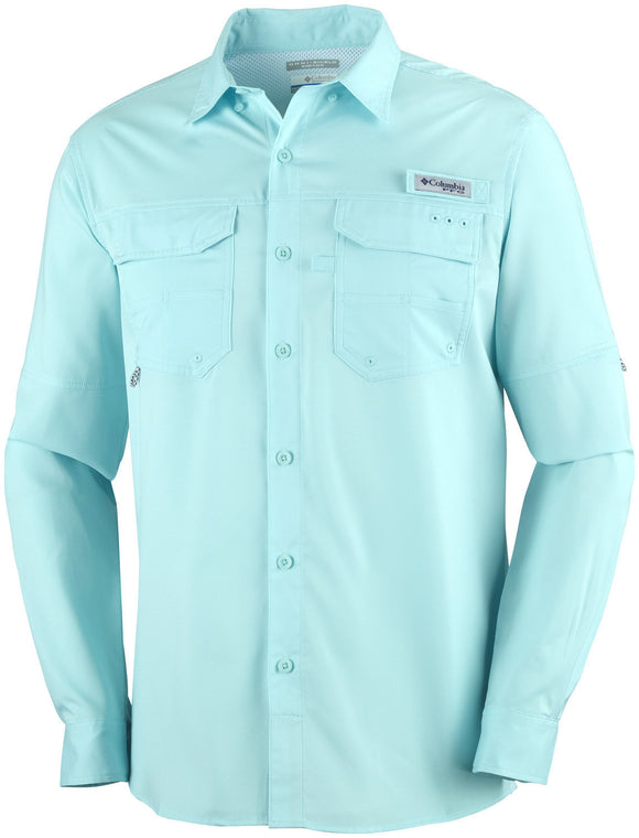 MEN'S PFG BLOOD AND GUTS™ III LONG SLEEVE WOVEN SHIRT Gulf Stream / M Tops Columbia - Hook 1 Outfitters/Kayak Fishing Gear