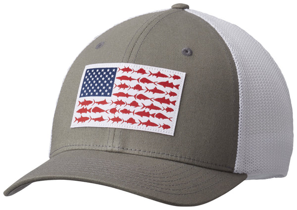 PFG MESH™ BALL CAP XXL TITANIUM / FISH  Hats Columbia - Hook 1 Outfitters/Kayak Fishing Gear