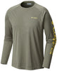 Terminal Tackle™ Heather LS Shirt Cypress Heather / M Tops Columbia - Hook 1 Outfitters/Kayak Fishing Gear