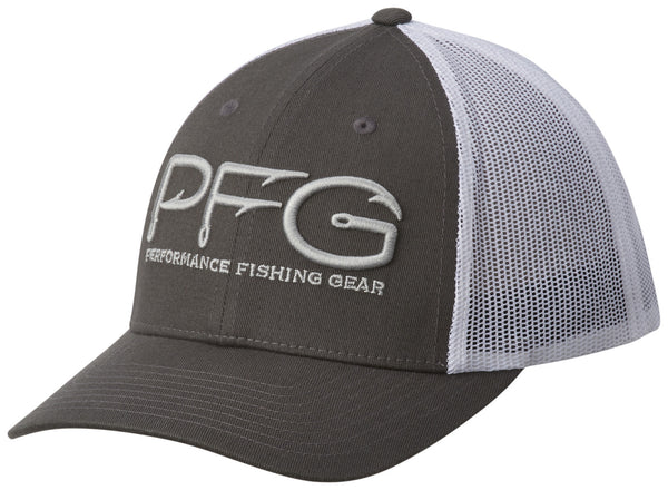 PFG MESH SNAP BACK™ BALL CAP GRILL / PFG HOOK  Hats Columbia - Hook 1 Outfitters/Kayak Fishing Gear
