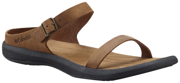 WOMEN'S CAPRIZEE™ LEATHER SLIDE SANDAL - CLOSEOUT  Footwear Columbia - Hook 1 Outfitters/Kayak Fishing Gear