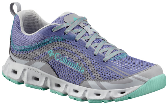 WOMEN'S DRAINMAKER™ IV Fairytale, Aqua / 7 Footwear Columbia - Hook 1 Outfitters/Kayak Fishing Gear