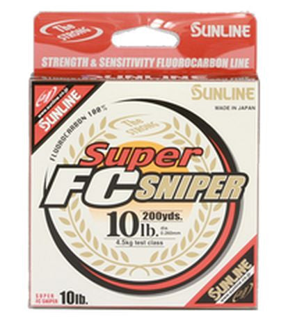 Sunline Super Fc Sniper Fluorocarbon  Line - Mono Sunline - Hook 1 Outfitters/Kayak Fishing Gear