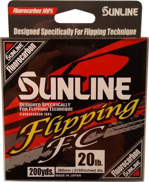 Sunline Flipping Fc Fluorcarbon  Line - Mono Sunline - Hook 1 Outfitters/Kayak Fishing Gear