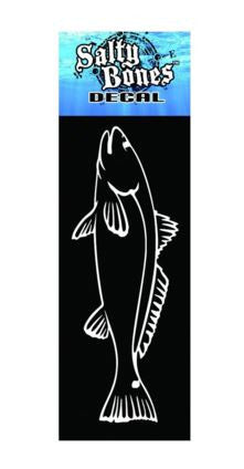 Salty Bones Plotted Fish Decal