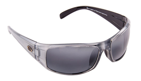 Strike King Polorized Sunglass - S11 Gray/Clr Gray Met 2 Tone  Eyewear/Accessories Strike King - Hook 1 Outfitters/Kayak Fishing Gear