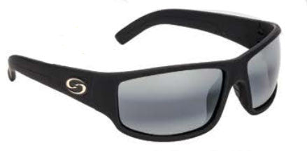 Strike King Polorized Sunglass - S11 Matte Blk/Gray  Eyewear/Accessories Strike King - Hook 1 Outfitters/Kayak Fishing Gear