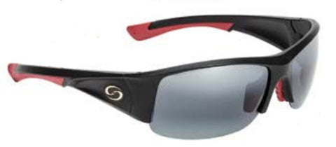Strike King Polorized Sunglass - S11 Blk/Red Gray Lens