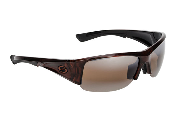 Strike King Polorized Sunglass - S11 Cry Burg/Blk /Amber