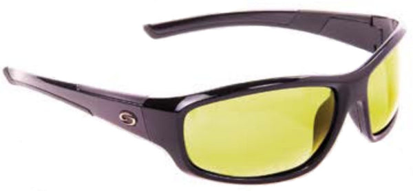 Strike King Polorized Sunglass - S11 Blk /Cloud  Eyewear/Accessories Strike King - Hook 1 Outfitters/Kayak Fishing Gear