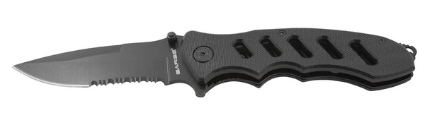 Sarge Tactical Folder Knife - G10 Black