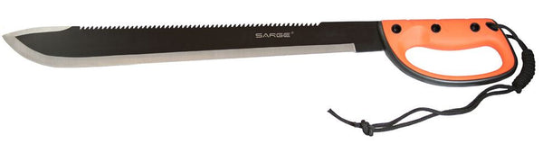 Sarge Machete - Jungle Expedition In Clamshell  Cutlery/Tools Sarge Knives - Hook 1 Outfitters/Kayak Fishing Gear