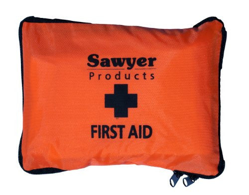 Sawyer First Aid Kit - With Carry Pouch  Camping Sawyer - Hook 1 Outfitters/Kayak Fishing Gear