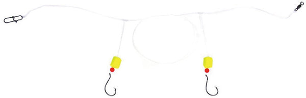 Sea Striker Pompano Circle Rig - 2 Drop W/2-2/0 Circle Hooks Yf