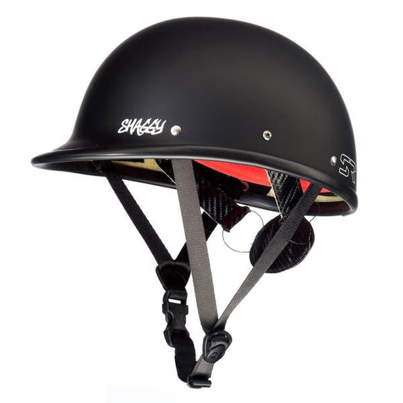 Shred Ready Shaggy Helmet Black Helmets Shred Ready - Hook 1 Outfitters/Kayak Fishing Gear