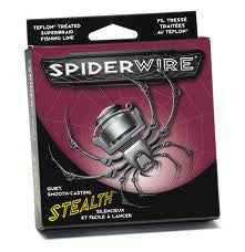 Spiderwire Stealth Line  Line - Braid Spiderwire - Hook 1 Outfitters/Kayak Fishing Gear