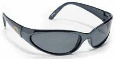 Strike King Polorized Sunglass - Black Chrome Gray  Eyewear/Accessories Strike King - Hook 1 Outfitters/Kayak Fishing Gear