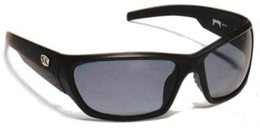 Strike King Polorized Sunglass - Sk-Plus Black/Gray  Eyewear/Accessories Strike King - Hook 1 Outfitters/Kayak Fishing Gear