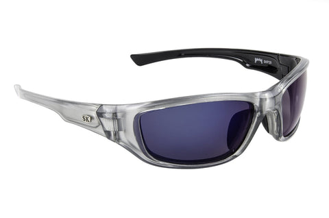 Strike King Polorized Sunglass - Sk-Plus Crystal Clr Blk/Blue