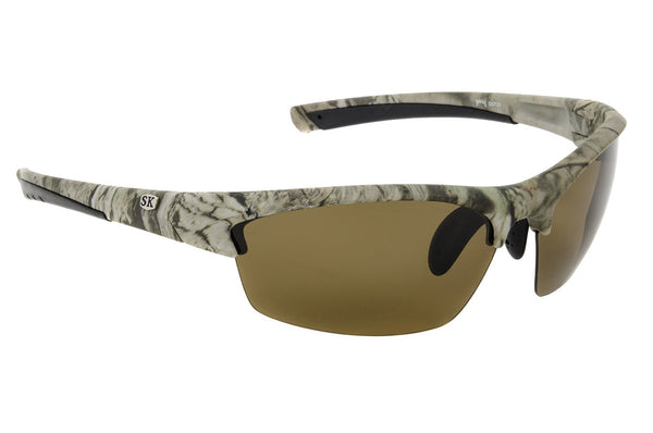 Strike King Polorized Sunglass - Sk-Plus Mo Camo/Amber  Eyewear/Accessories Strike King - Hook 1 Outfitters/Kayak Fishing Gear