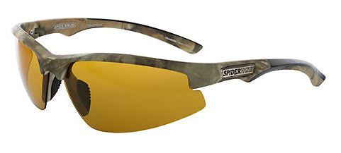 Spiderwire Polorized Sunglasse - Terror Eyes Gloss Blk/Smk Grn