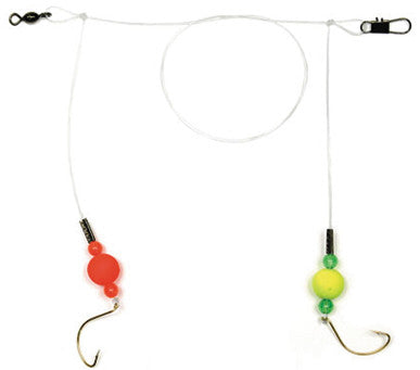 Sea Striker Spot/Pompano Rig - Circle Hook - #2 Red/Yel Flts  Leaders/Accessories Sea Striker - Hook 1 Outfitters/Kayak Fishing Gear