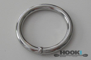 Stainless Steel Ring  Hardware & Small Parts SEA-LECT Designs - Hook 1 Outfitters/Kayak Fishing Gear