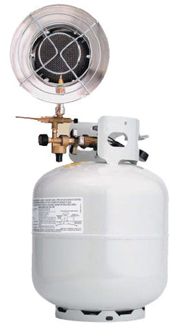 Texsport Propane Heater - 10-000 Btus For Bulk Tank
