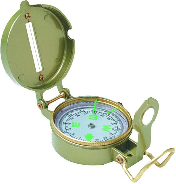 Texsport Compass - Lensatic Liquid Filled #27120  Camping Texsport - Hook 1 Outfitters/Kayak Fishing Gear