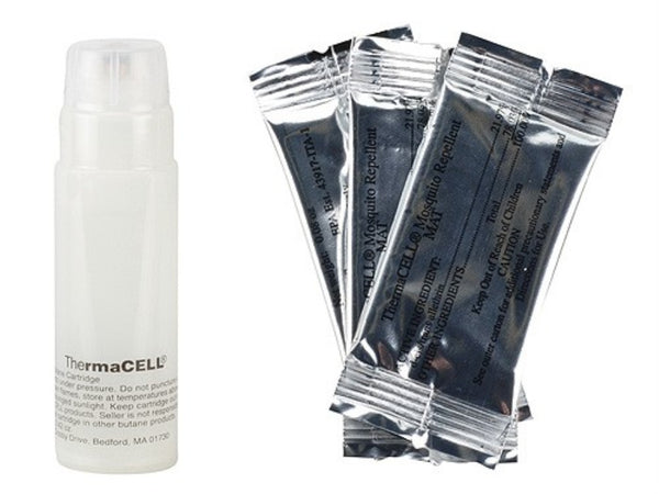 Thermacell Repellent Refills - Earth W/3 Mats & 1 Cartridges  Camping Thermacell - Hook 1 Outfitters/Kayak Fishing Gear