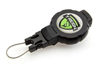 T-REIGN Retractable Gear Tether with Belt Clip  Leashes and Retractors T-Reign - Hook 1 Outfitters/Kayak Fishing Gear