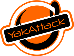 "Get Hooked Decal 3"" Stickers YakAttack - Hook 1 Outfitters/Kayak Fishing Gear"
