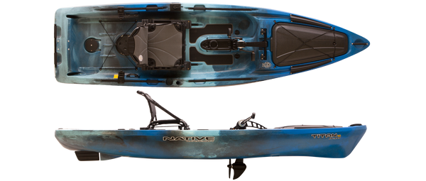 Titan 12 Blue Lagoon Kayaks Native Watercraft - Hook 1 Outfitters/Kayak Fishing Gear