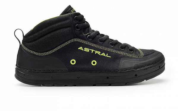 Astral Unisex Rassler Water Shoe BLACK/GREEN / U8.5 Footwear Astral - Hook 1 Outfitters/Kayak Fishing Gear