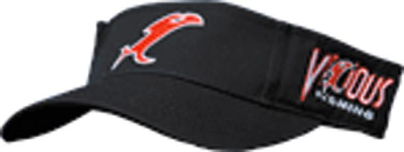 Vicious Fishing Logo Visor  Clothing/Footwear - Fishing Vicious Fishing - Hook 1 Outfitters/Kayak Fishing Gear