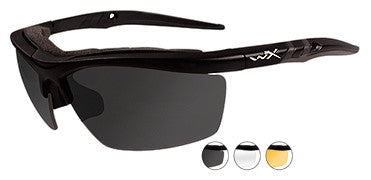 Wiley X Sunglasses - Guard Smk Grey/Clear/Light Rus