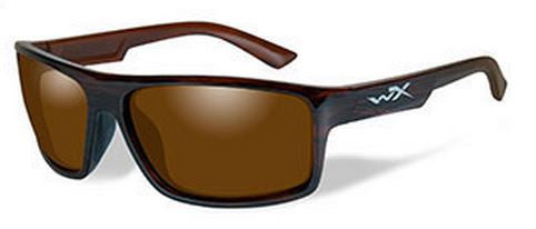 Wiley X Polarized Sunglasses - Peak Amber/Gloss Tort  Eyewear/Accessories Wiley X - Hook 1 Outfitters/Kayak Fishing Gear