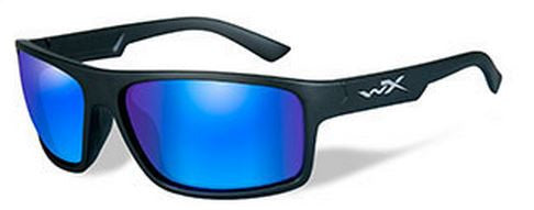 Wiley X Polarized Sunglasses - Peak Blue Mir/ Matte Blk  Eyewear/Accessories Wiley X - Hook 1 Outfitters/Kayak Fishing Gear