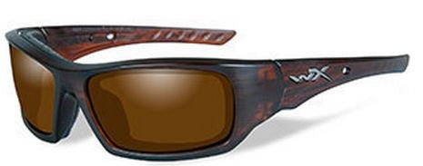 Wiley X Polarized Sunglasses - Arrow Amber/Matte Tort