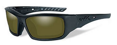 Wiley X Polarized Sunglasses - Arrow Yellow/Matte Black  Eyewear/Accessories Wiley X - Hook 1 Outfitters/Kayak Fishing Gear