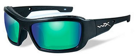 Wiley X Polarized Sunglasses - Knife Em Mirror/Matte Blk  Eyewear/Accessories Wiley X - Hook 1 Outfitters/Kayak Fishing Gear