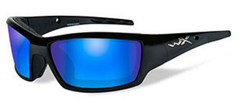 Wiley X Polarized Sunglasses - Tide Blue/Gloss Black  Eyewear/Accessories Wiley X - Hook 1 Outfitters/Kayak Fishing Gear