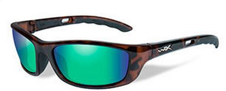Wiley X Polarized Sunglasses - P-17 Emerald/Gloss Demi  Eyewear/Accessories Wiley X - Hook 1 Outfitters/Kayak Fishing Gear