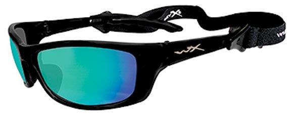 Wiley X Polarized Sunglasses - P-17 Emerald Mir Amb Tint/Gl B  Eyewear/Accessories Wiley X - Hook 1 Outfitters/Kayak Fishing Gear